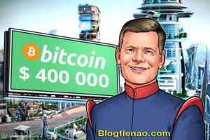 Ảnh của Mark Yusko một bậc thầy về đầu tư dự đoán giá bitcoin sẽ đạt 400.000 USD