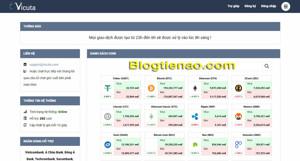 Ảnh của VICUTA – Giới thiệu sàn giao dịch mua bán Bitcoin và Altcoin uy tín, an toàn và giá tốt tại Việt Nam