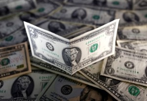 Picture of Dollar Down but Near One-Month High Ahead of Fed Policy Decision