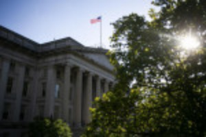 Picture of Treasury Yields Jump as Fed Officials Signal Speedier Hikes