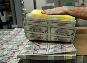 Picture of Dollar Up, Near Two-Month High as Fed Springs Hawkish Policy Decision