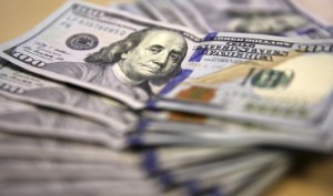 Picture of Dollar Gains as Fed Points to Rate Hikes in 2023