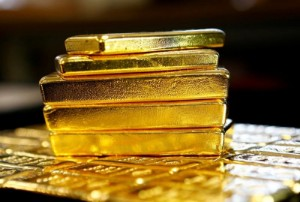 Picture of Gold Up Ahead of Jerome Powell's Testimony