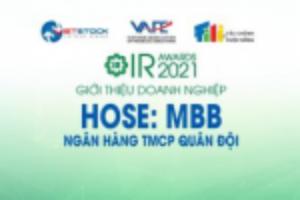 Ảnh của IR AWARDS 2021: Giới thiệu Ngân hàng TMCP Quân Đội (HOSE: MBB)
