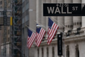 Picture of U.S. stocks lower at close of trade; Dow Jones Industrial Average down 0.42%