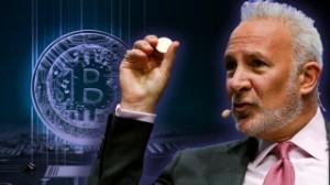 """Ảnh của Peter Schiff chế giễu kế hoạch nắm giữ Bitcoin """"mãi mãi"""" của CEO MicroStrategy"""