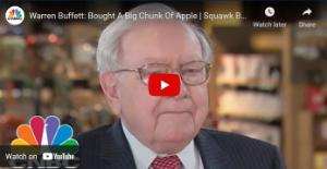 Picture of Warren Buffett: Bought A Big Chunk Of Apple | Squawk Box | CNBC