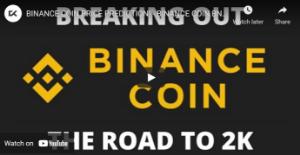 Picture of BINANCE COIN PRICE PREDICTION! - BINANCE COIN BNB 2021 - BINANCE COIN TECHNICAL ANALYSIS