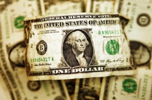 Picture of Dollar Down, But Near Three Week High After