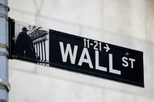 Picture of Wall Street slides, ending seesaw week in a risk-off mood