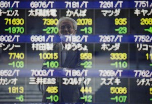 Picture of Asian stock markets wobble as China Evergrande woes sap confidence