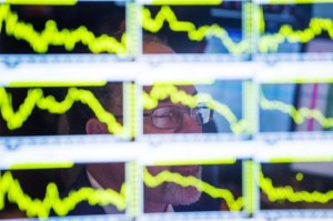 Picture of Stocks Up, Futures Steady in Europe; Sovereign Yields Higher
