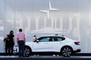 Picture of EV maker Polestar strikes $20-billion deal with Gores Guggenheim SPAC