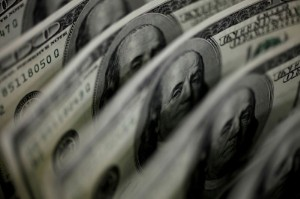 Picture of Dollar trades near one-year high after inflation data; Fed minutes on tap