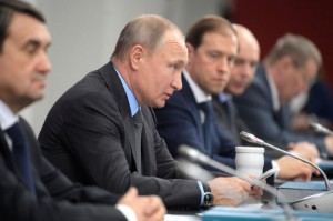 Ảnh của Tổng thống Nga Putin cho rằng giá dầu đạt mức 100 đô la là 'hoàn toàn có thể'