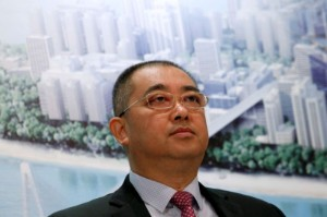 Picture of Evergrande CEO in Hong Kong for restructuring, asset sale talks, sources say